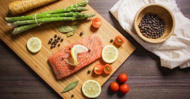 dieta z łososiem